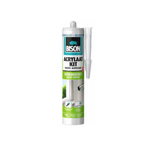 Bison acrylaatkit transparant 310ml